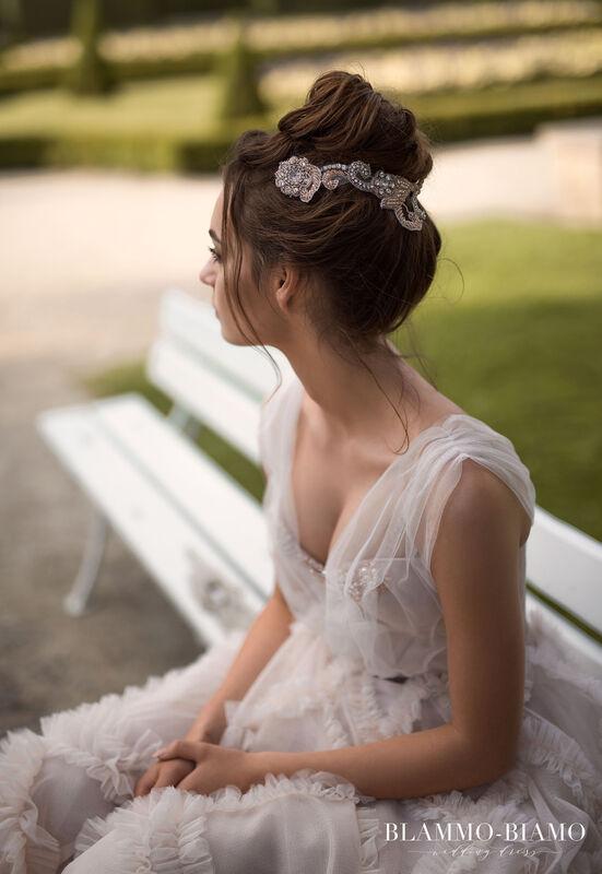 Свадебное платье напрокат Blammo-Biamo Платье свадебное The Rice  Noel - фото 3