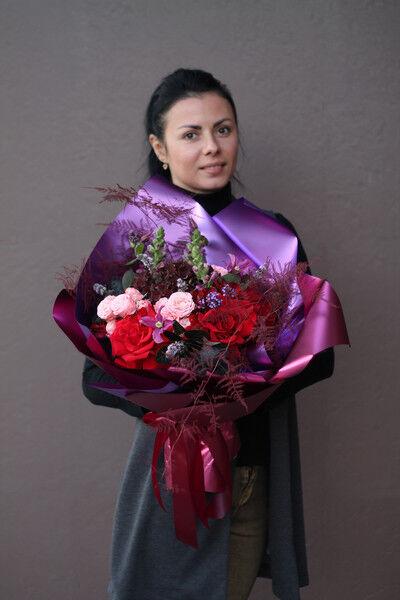 Магазин цветов Cvetok.by Букет «Лиловый» - фото 2