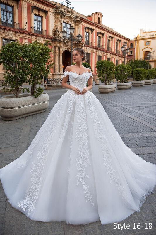 Свадебный салон Giovanna Alessandro Cinderella Свадебное платье - фото 1