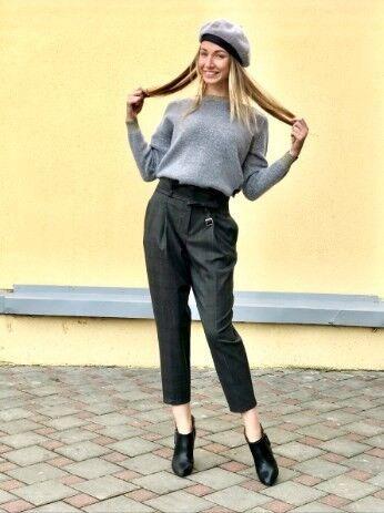 Кофта, блузка, футболка женская It's me! (Это Я!) Джемпер женский серый - фото 2