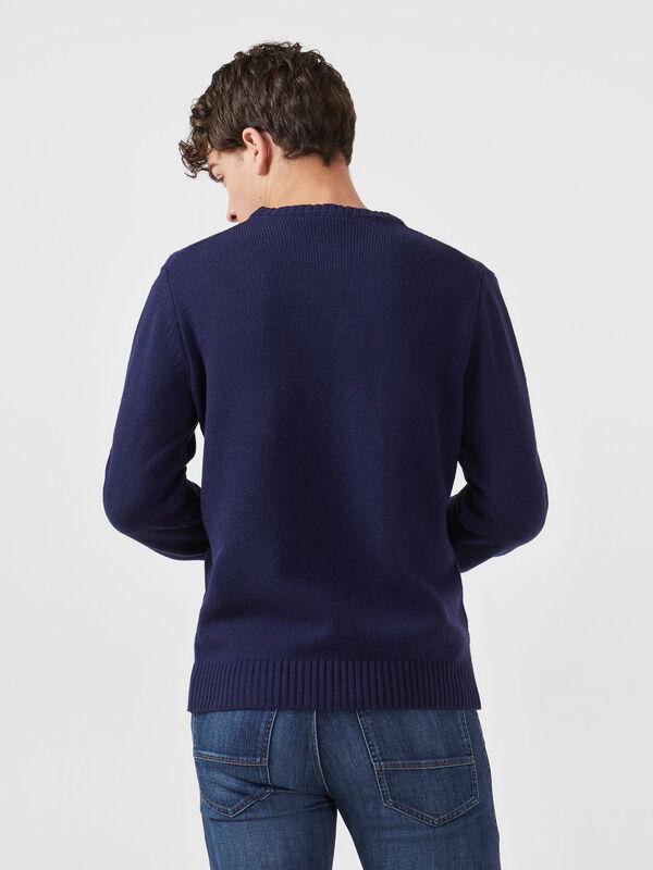 Кофта, рубашка, футболка мужская Trussardi Свитер мужской 52M00256-0F000425 - фото 2