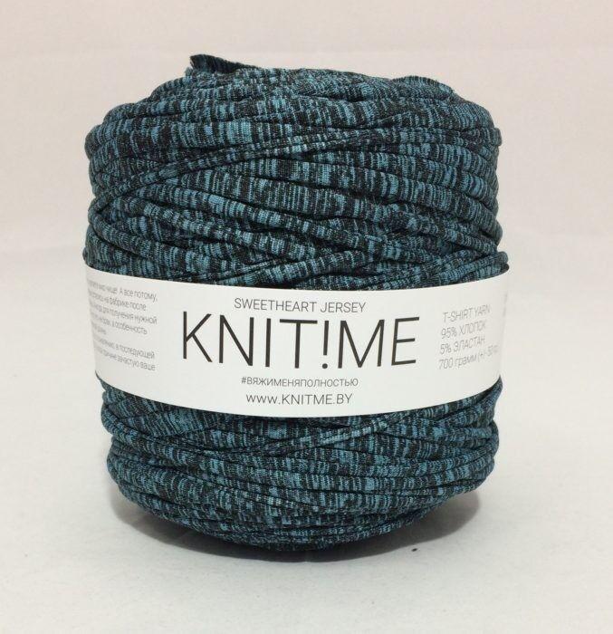 Товар для рукоделия Knit!Me Ленточная пряжа Sweetheart Jersey - Аллигатор (SJ430) - фото 1
