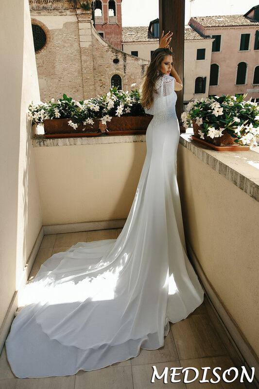 Свадебный салон Bonjour Galerie Свадебное платье Medison из коллекции La Douceur - фото 2