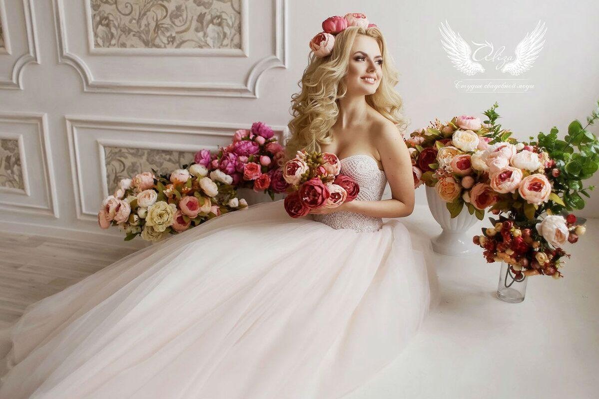 Свадебный салон ALIZA Платье свадебное «Sonata» Soffito - фото 5