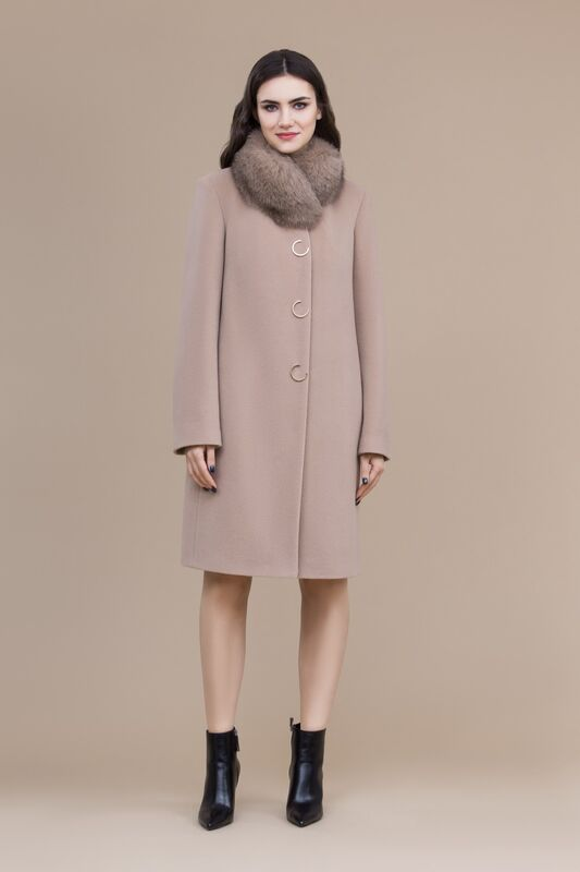 Верхняя одежда женская Elema Пальто женское зимнее 7-8144-1 - фото 1