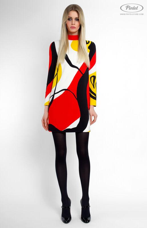 Платье женское Pintel™ Мини-платье прямого силуэта Shönien - фото 2