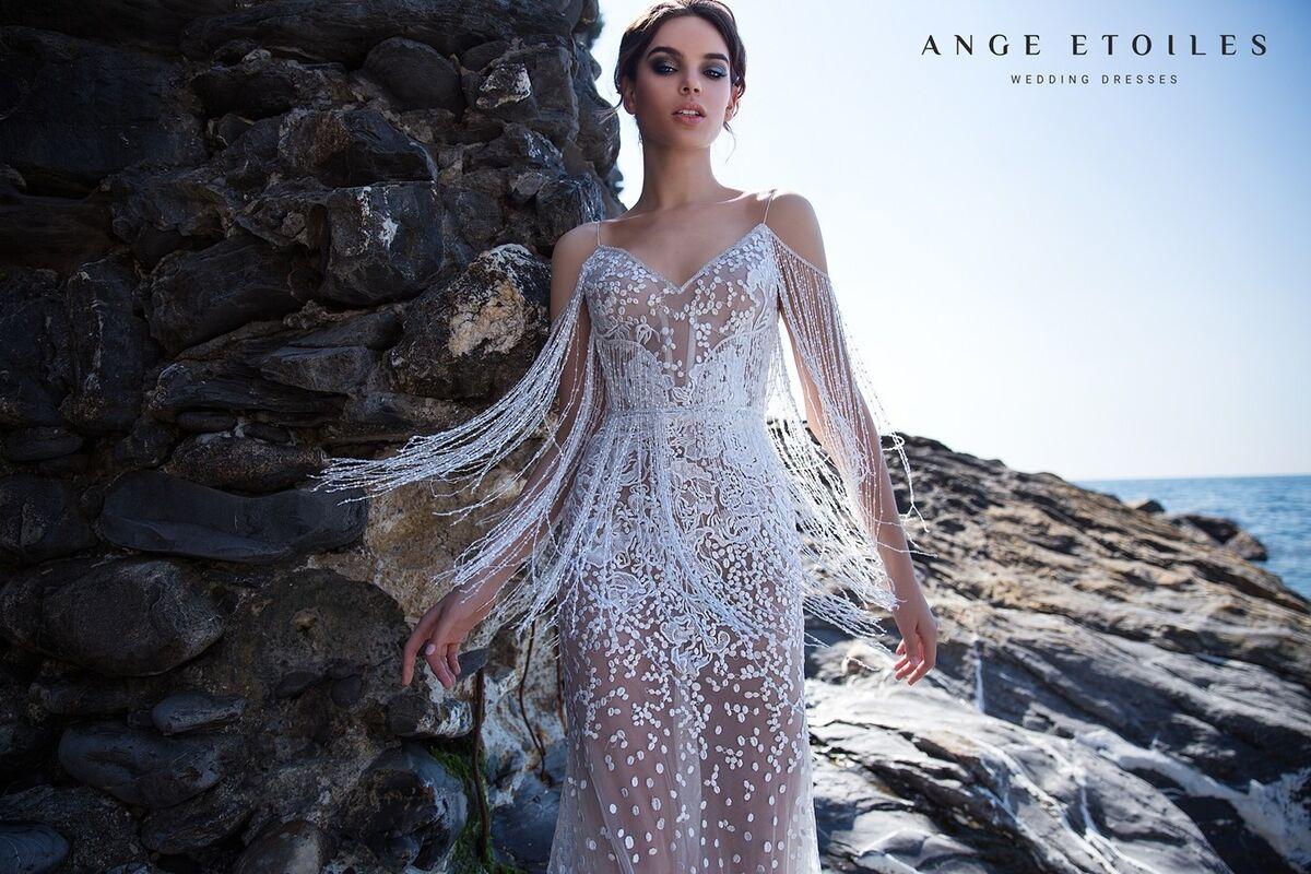 Свадебное платье напрокат Ange Etoiles Свадебное платье Ali Damore Opra - фото 2
