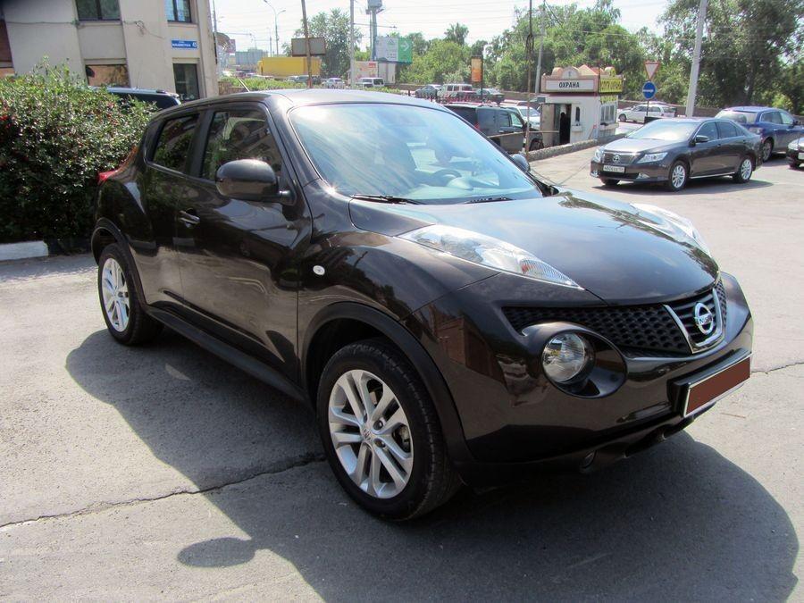 Аренда авто Nissan Juke 2012 г.в. - фото 1