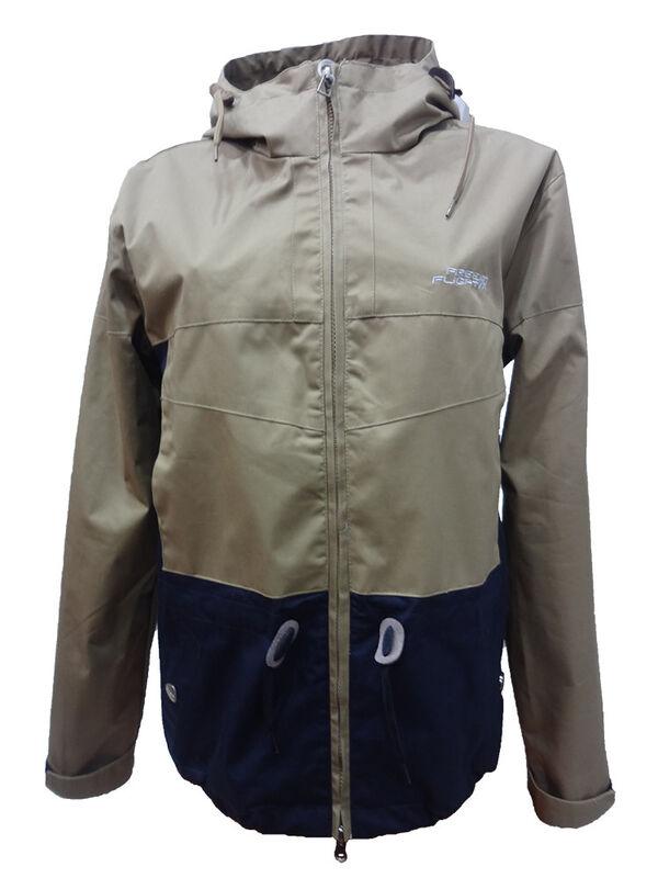 Спортивная одежда Free Flight Женская ветровка серо-синяя - фото 1