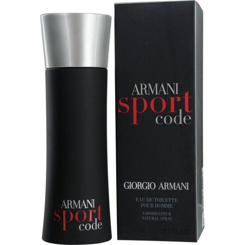 Парфюмерия Giorgio Armani Туалетная вода Armani Code Sport - фото 1