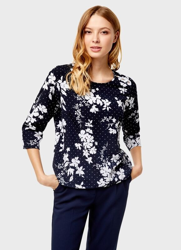 Кофта, блузка, футболка женская O'stin Блуза с декoративными пуговицами LS4U11-69 - фото 1