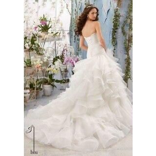 Свадебное платье напрокат Mori Lee Платье свадебное 5412 - фото 2