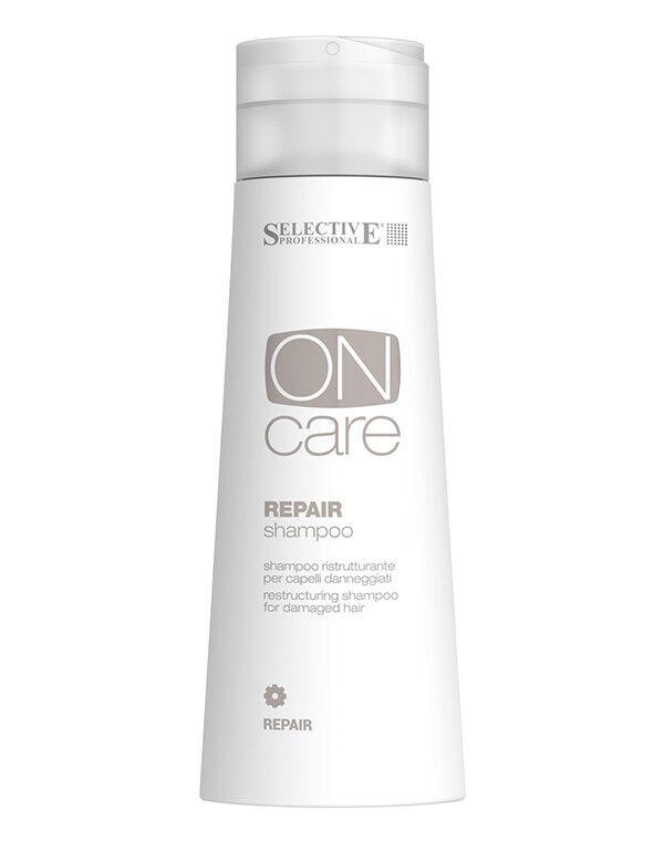 Уход за волосами Selective Шампунь восстанавливающий для волос Repair On Care, 750 мл - фото 1