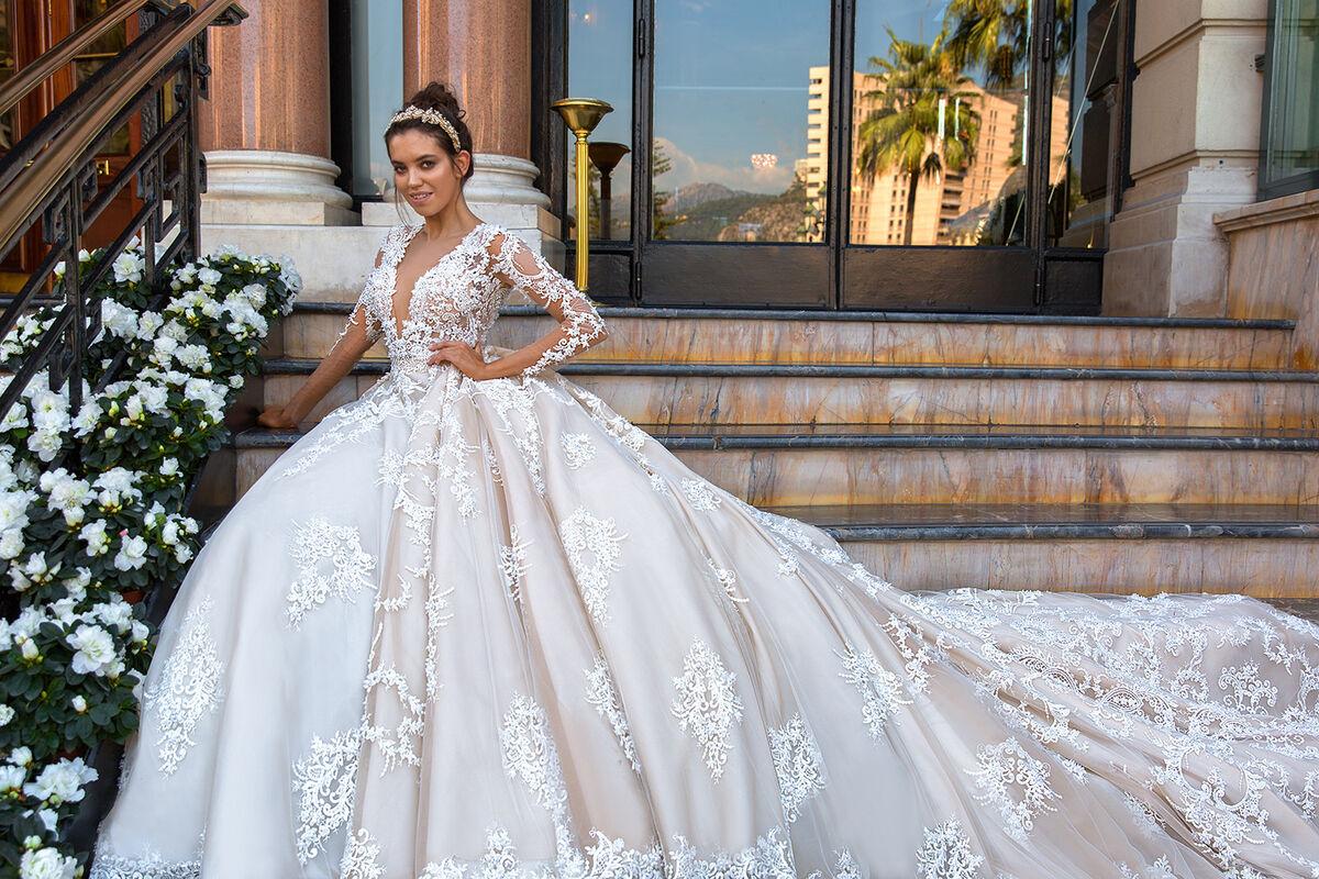Свадебный салон Crystal Свадебное платье Chantale - фото 3