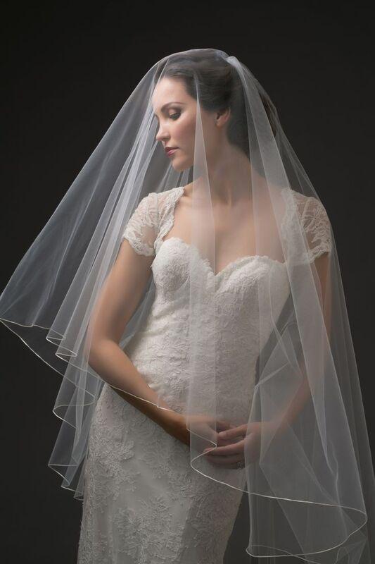 Свадебный аксессуар Bliss Свадебная фата Halo - фото 1