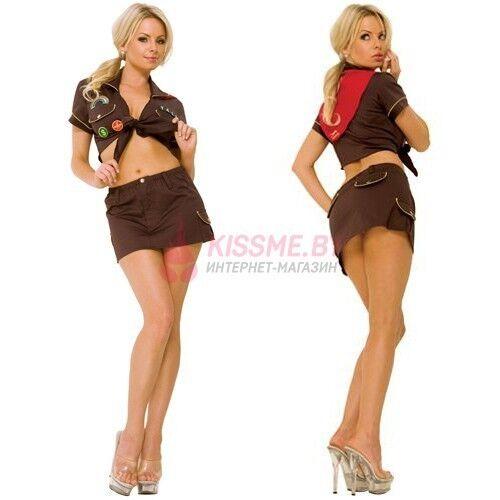 Интим-магазин Kiss Me Девушка-бойскаут Hustler HC108 - фото 1