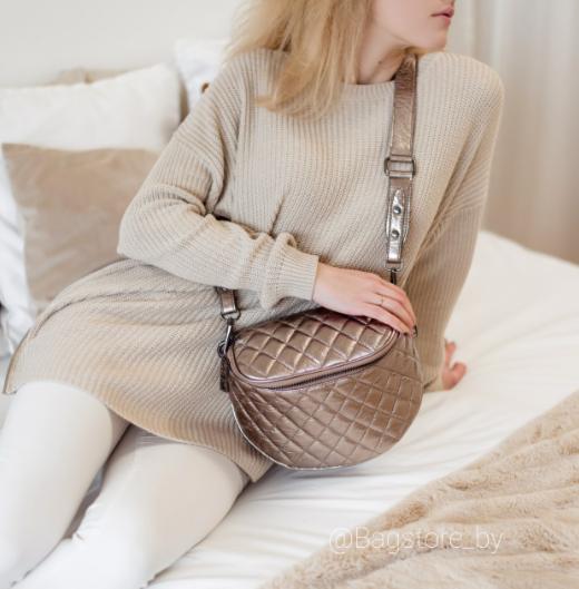 Магазин сумок Vezze Кожаная женская сумка C00416 - фото 1