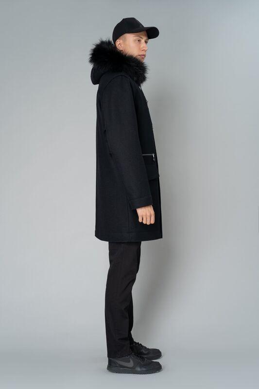 Верхняя одежда мужская Etelier Пальто мужское утепленное 6М-9294-1 - фото 3