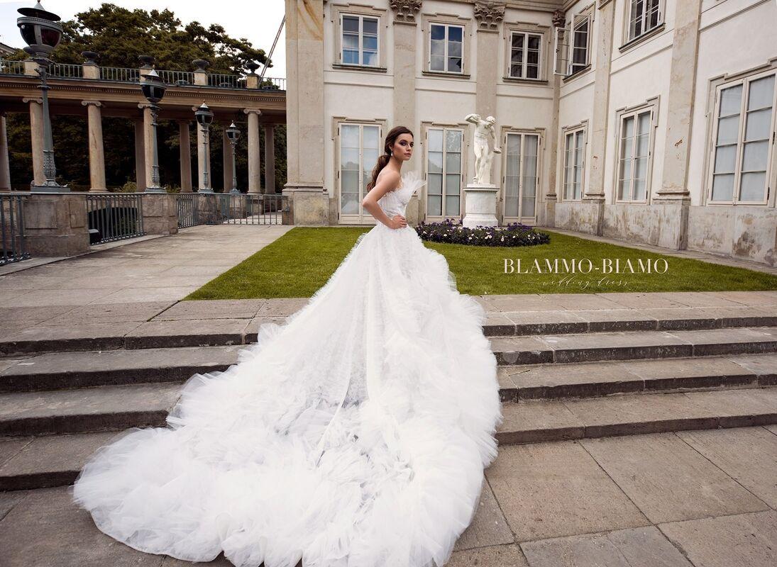Свадебное платье напрокат Blammo-Biamo Платье свадебное The Rice Asta - фото 7