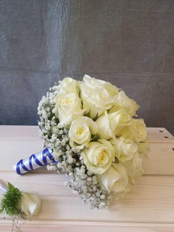 Магазин цветов VGosti.by Свадебный букет «Первая любовь» - фото 7