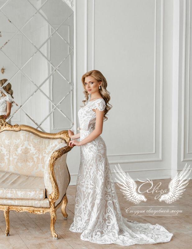 """Свадебный салон ALIZA Свадебное платье """"Berta"""" - фото 1"""