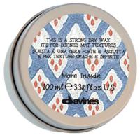 Уход за волосами Davines Сухой воск для текстурных матовых акцентов Strong Dry Wax - фото 1