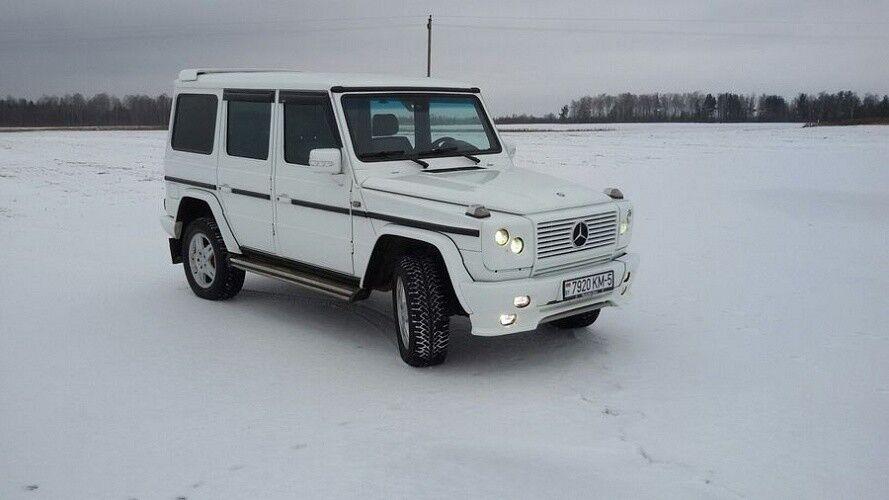 Прокат авто Mercedes-Benz Gelandewagen White - фото 3