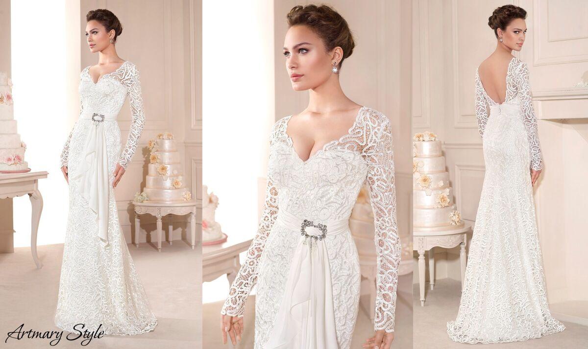 Свадебное платье напрокат Novia D'Art Платье свадебное Barbara - фото 2