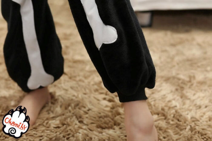 Подарок Taicang Soft Пижама кигуруми «Скелет» - фото 7