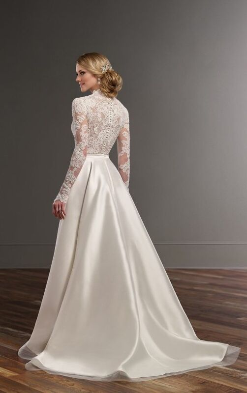 Свадебное платье напрокат Essense of Australia Платье свадебное Jude - фото 4