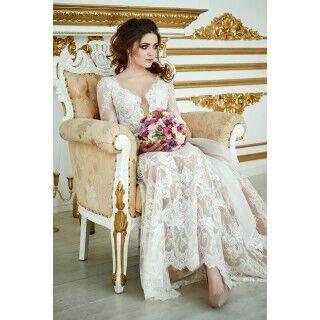 Свадебное платье напрокат Berkana Платье свадебное Renaissance - фото 4