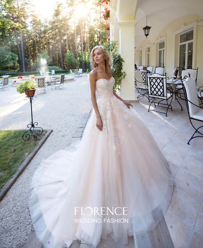 Свадебное платье напрокат Sophia Tolli Платье свадебное 1719 Tavel Florence - фото 1