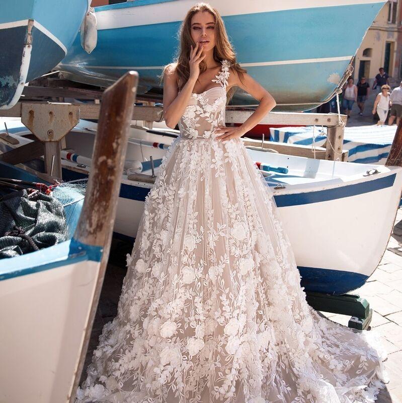 Свадебное платье напрокат Ange Etoiles Свадебное платье Ali Damore Zemfira - фото 1