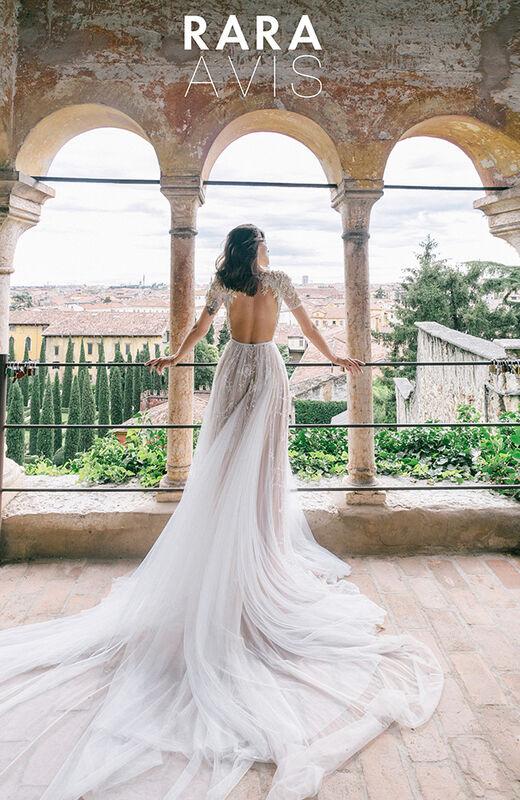 Свадебное платье напрокат Rara Avis Свадебное платье Ester - фото 2