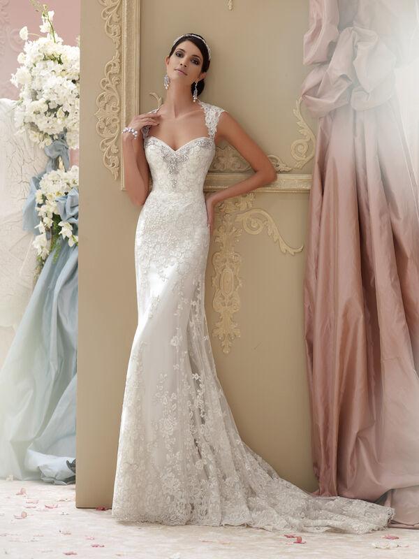 Свадебное платье напрокат David Tutera Платье свадебное 115229 Lourdes - фото 3