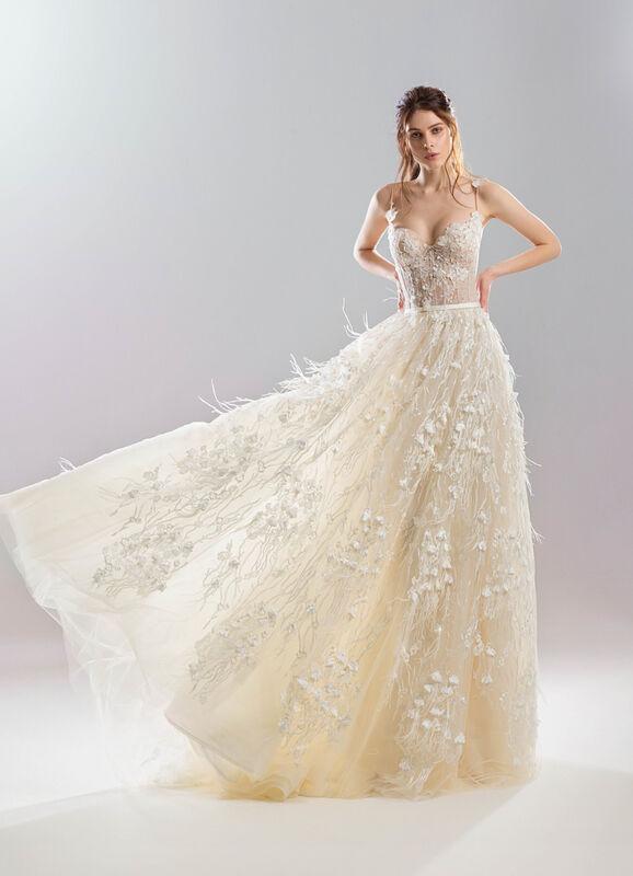 Свадебный салон Papilio Свадебное платье «Легкость» - фото 1