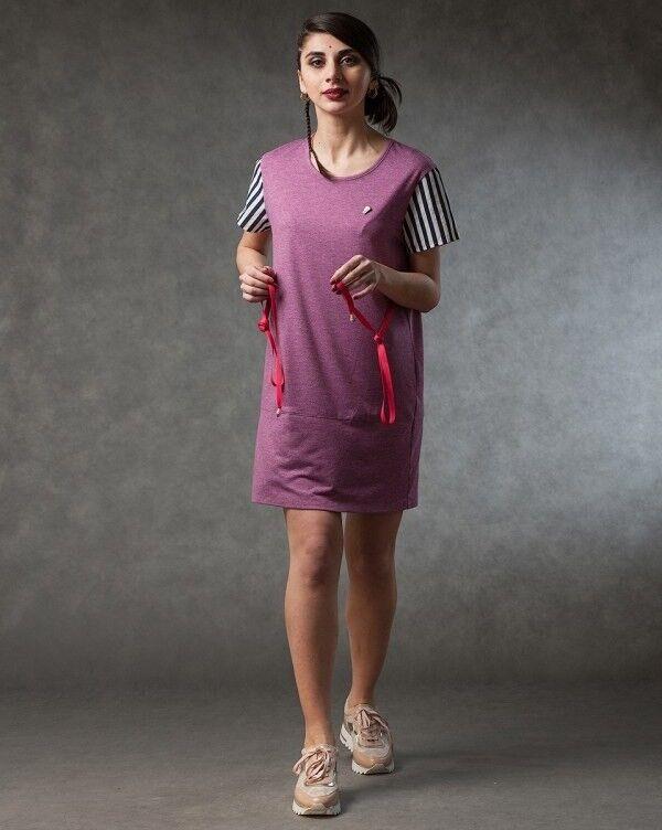Платье женское MISUTERI Платье Nekutai Pink SS0128 - фото 1