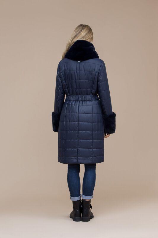 Верхняя одежда женская Elema Пальто женское плащевое утепленное 5-8120-1 - фото 2