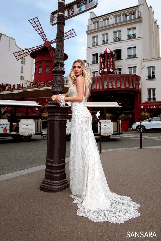 Свадебный салон Bonjour Galerie Платье свадебное SANSARA из коллекции BON VOYAGE - фото 2