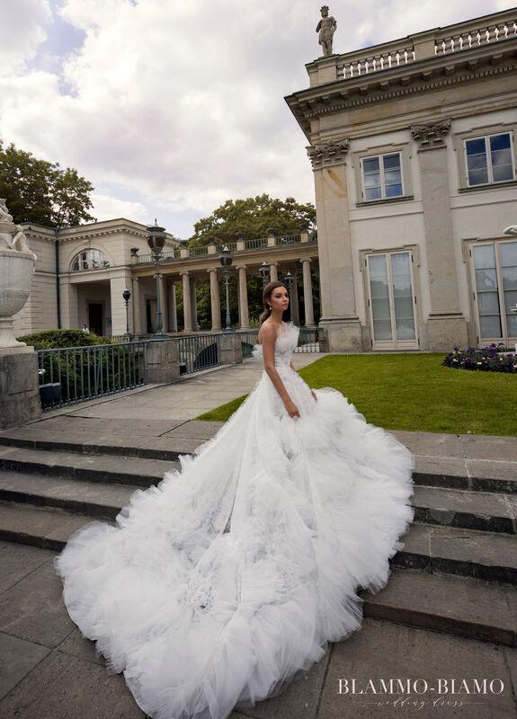 Свадебное платье напрокат Blammo-Biamo Платье свадебное The Rice Asta - фото 1