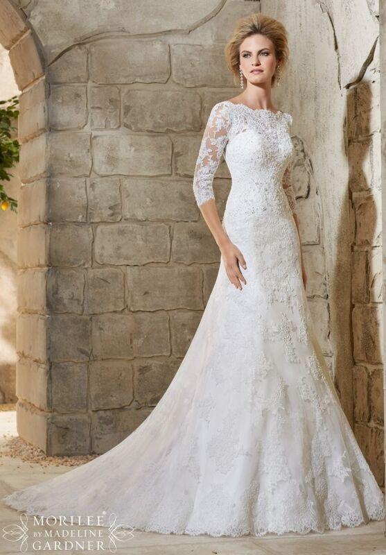 Свадебное платье напрокат Mori Lee Платье свадебное  2776 - фото 1