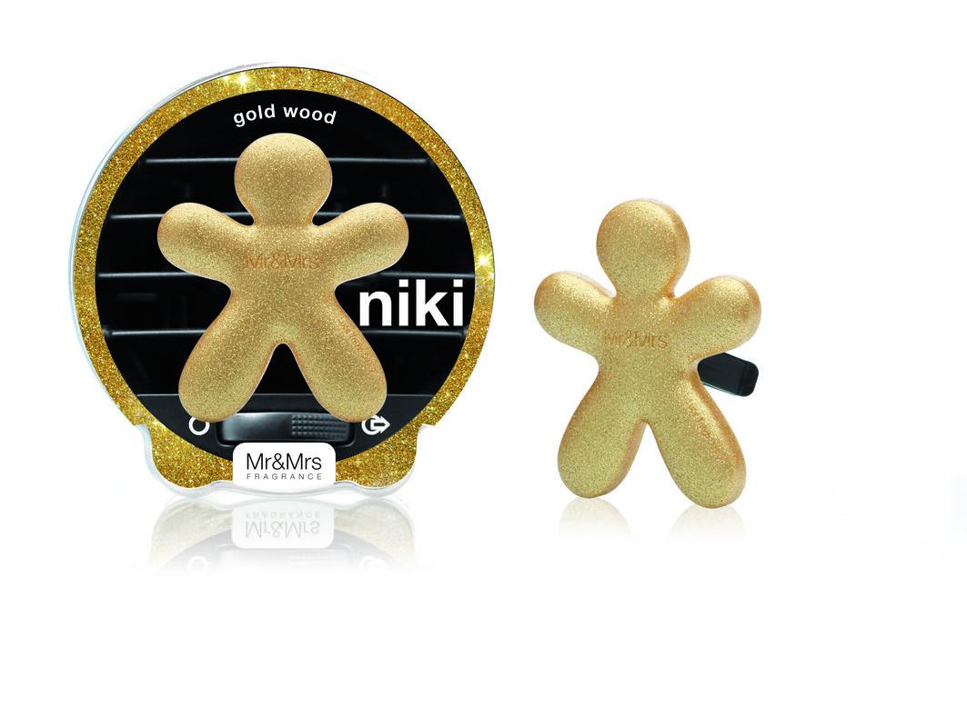 Подарок Mr & Mrs Fragrance Ароматизатор воздуха для автомобиля Niki - фото 9