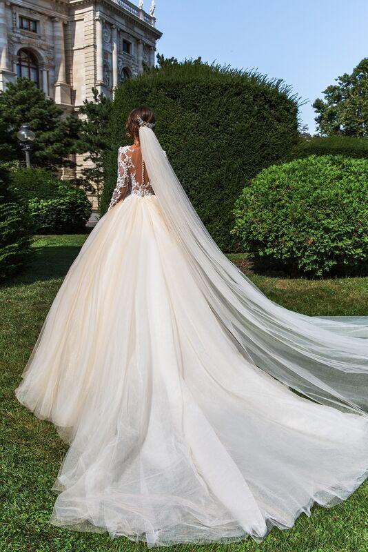 Свадебный салон Crystal Свадебное платье Belle - фото 2