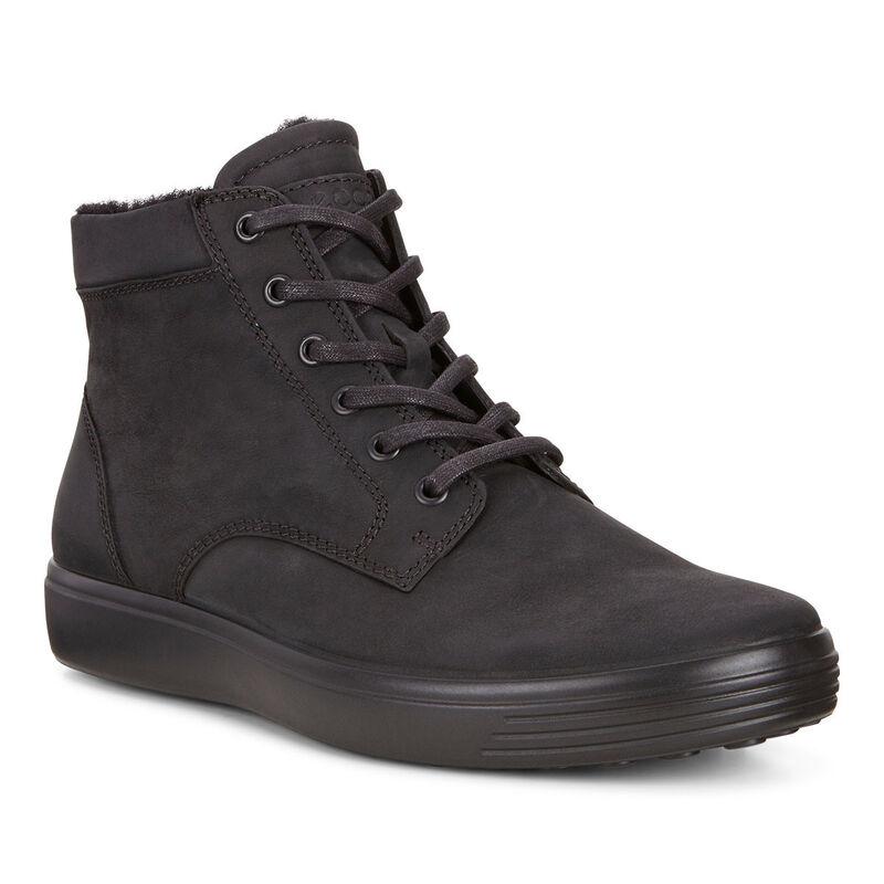 Обувь мужская ECCO Кеды высокие SOFT 7 430394/02001 - фото 1