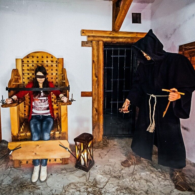 Квест ZAZAMKOM Квест «Гнев Инквизиции» на 3 чел. - фото 1