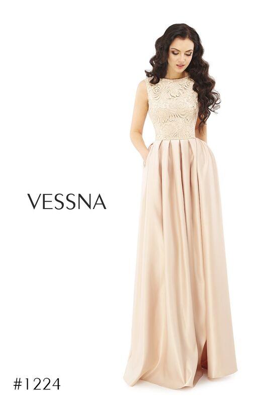 Вечернее платье Vessna Вечернее платье арт.1224 из коллекции VESSNA Party - фото 1