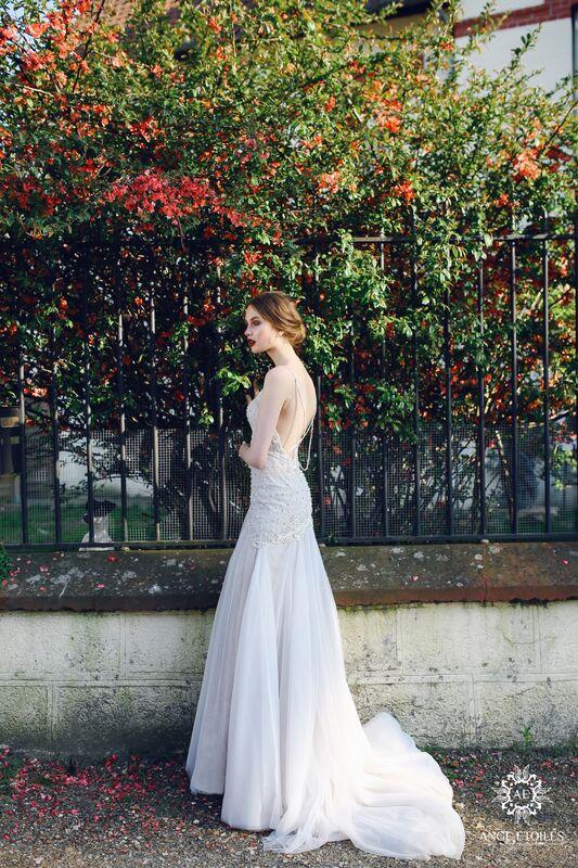 Свадебное платье напрокат Ange Etoiles Платье свадебное AEriality Collection  Serena - фото 2