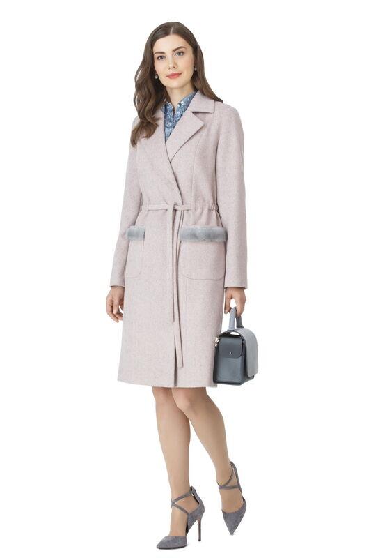 Верхняя одежда женская Elema Пальто женское демисезонное Т-7265 - фото 1