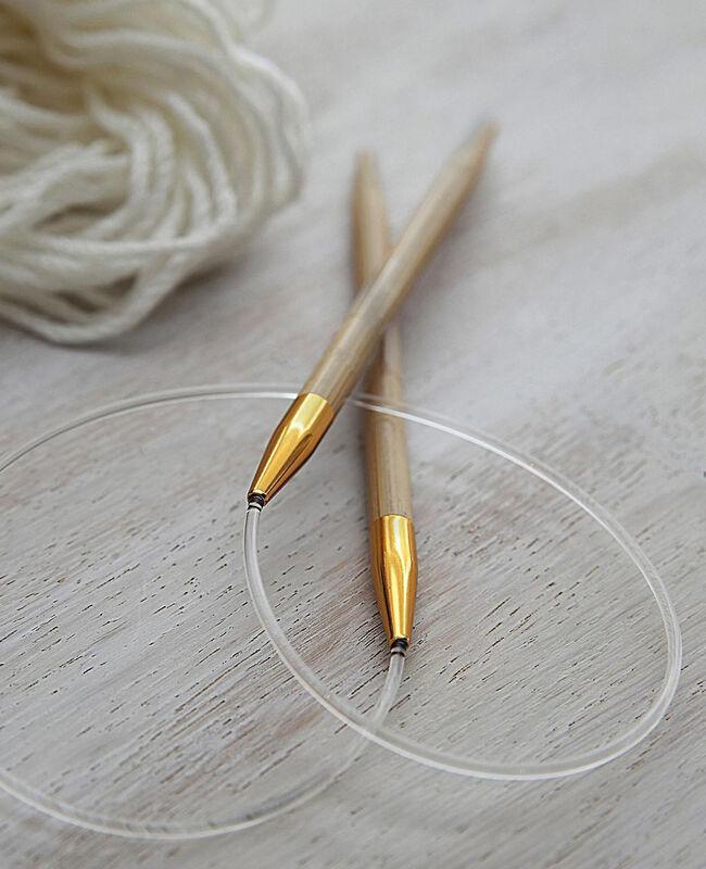 Товар для рукоделия Bergere De France Бамбуковые спицы круговые 141.111, №4.5 - фото 1