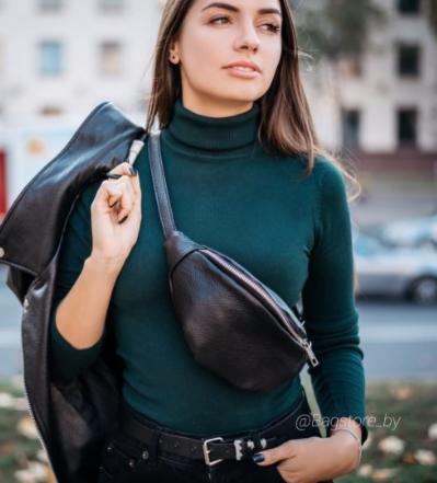 Магазин сумок Vezze Кожаная женская сумка C00406 - фото 1